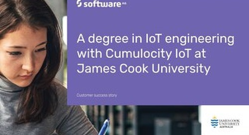 Cumulocity IoT helps you get a degree in IoT Engineering!