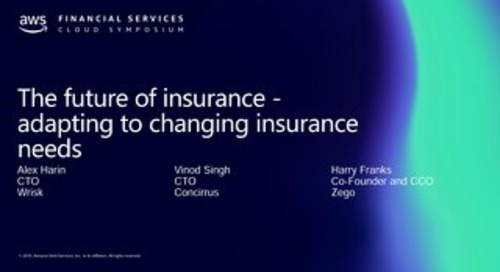 The future of insurance - adapting to changing insurance needs