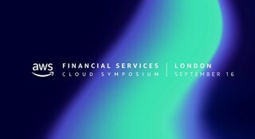AWS Financial Services Cloud Symposium - Keynote slides