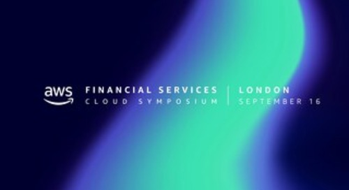 AWS Financial Services Cloud Symposium - Keynote slides