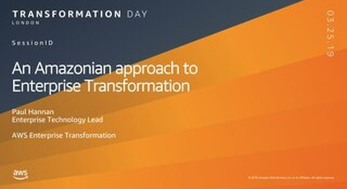 An Amazonian approach to enterprise transformation
