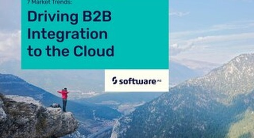 7 Market Trends: Driving B2B Integration to the Cloud