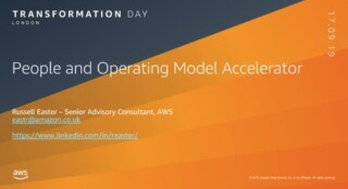 People and op-model accelerator