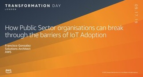 How Public Sector organisations can break through the barriers to IoT adoption