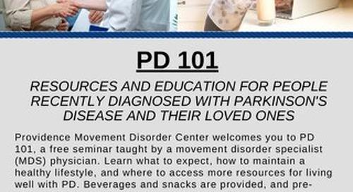 Parkinson's Disease 101