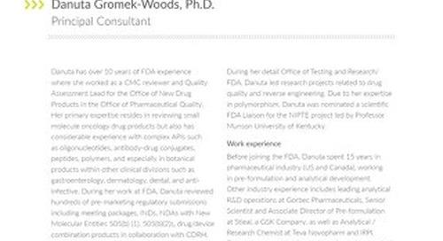 Danuta Gromek-Woods