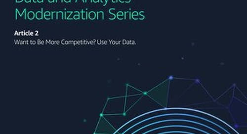 Want to Be More Competitive? Use Your Data.
