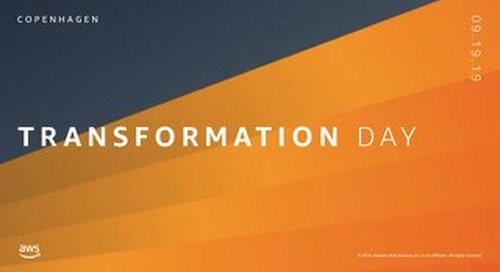 Keynote: Innovating as a High Frequency Organization_AWS Transformation Day_190919