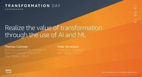 Aller Media_AWS Transformation Day CPH_190919
