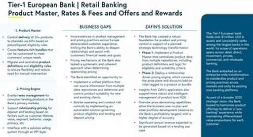 Tier-1 European Bank - Retail Banking