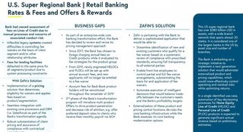 U.S. Super Regional Bank - Retail Banking