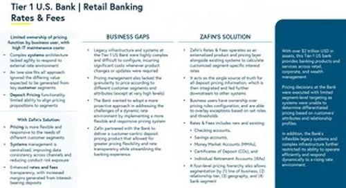 Tier-1 U.S. Banking - Retail Banking