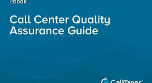 Call Center Quality Assurance Guide