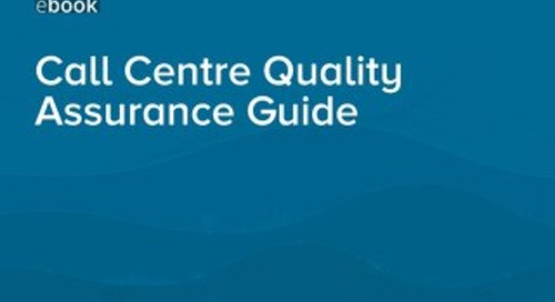 Call Centre Quality Assurance Guide (UK)