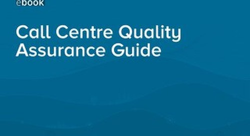 Call Centre Quality Assurance Guide