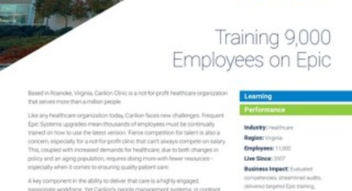 Case Study - Carilion Clinic