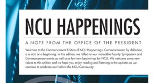 NCU Happenings August 2019