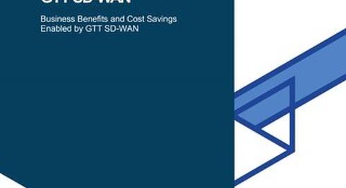 GTT & Forrester: SD-WAN Total Economic Impact Study