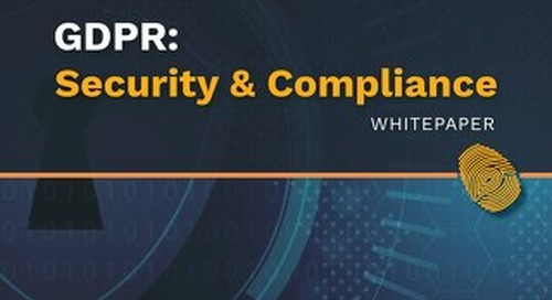 Qubole GDPR Security and Compliance Whitepaper