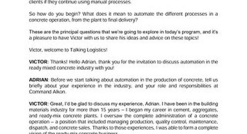 Victor Garza - Talking Logistics