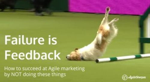 Failure is Feedback: How to Succeed at Agile Marketing By NOT Doing These Things