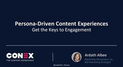 Persona-Driven Content Experiences: Get the Keys to Engagement