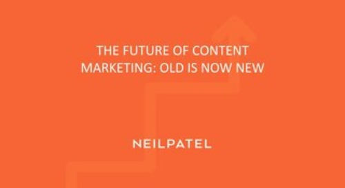 How to Get the Most out of Your Old Content