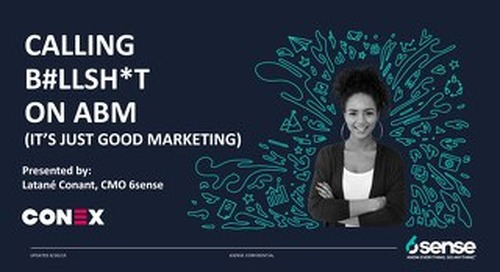 Calling BS on ABM - It's Just Good Marketing