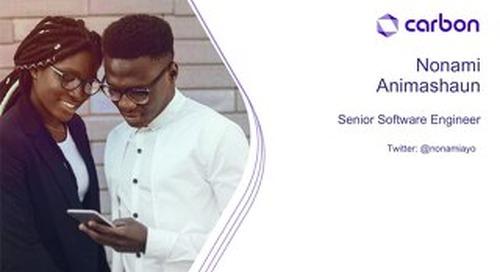 AWS Startup Day Lagos - Carbon Customer Presentation
