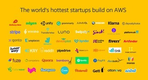 Amazon Web Services provides startups with the low cost, easy to use infrastructure needed to scale and grow.
