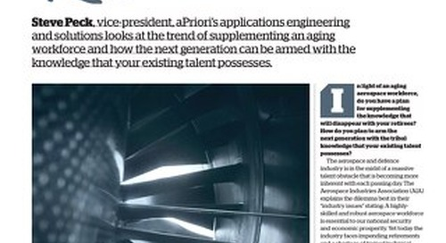Knowledge Managed: Experience Retained in the Aerospace Industy