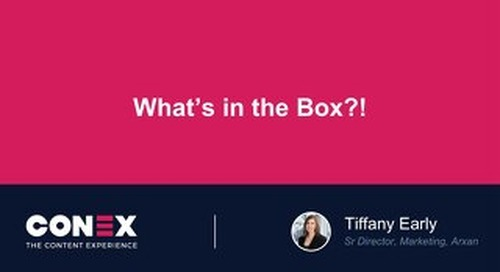 What's in the Box?! How Arxan Beats the Competition Through Personalized Mail