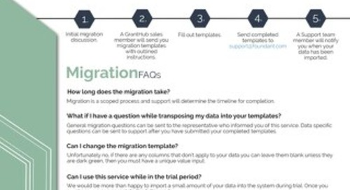 GrantHub Migration
