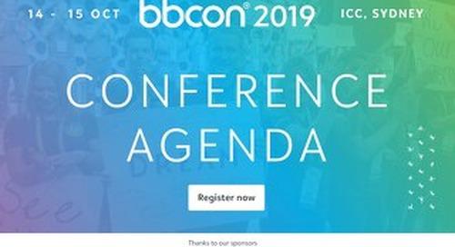 bbcon 2019 Agenda
