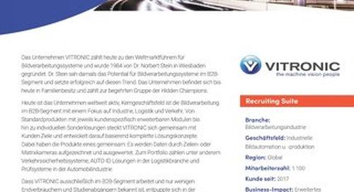 Fallstudie Vitronic - Recruiting für die neuste Generation der Bewerber