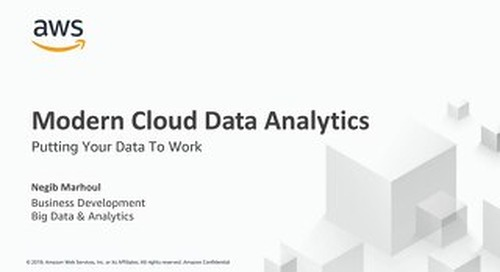 Oslo Sep 2019 - Putting Your Data To Work