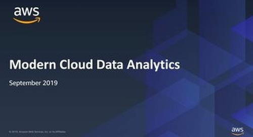 Nordics Sep 2019 - Modern Cloud Data Analytics