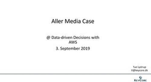 Copenhagen Sep 2019 - Aller media Case
