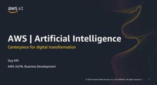 AWS AIML - Centerpiece for Digital Transformation