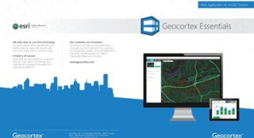 Geocortex Essentials for Web AppBuilder