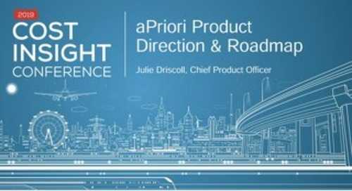 aPriori Roadmap