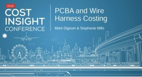 Electronics: PCBA and Wire Harness Costing