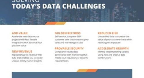 Zaloni Overview: Solving Today's Data Challenges