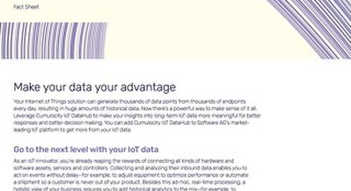 Cumulocity IoT DataHub