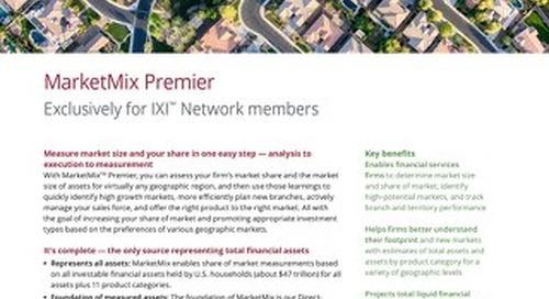 MarketMix - Product Sheet