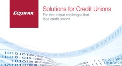 Solutions for Credit Unions