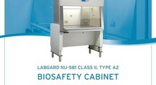 [Brochure] LabGard ES Cyto NU-581 Class II, Type A2 Biosafety Cabinet