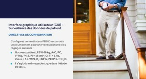 PROGRAMME D'ACCRÉDITATION : VENTILATEUR PB980 ÉTUDE DE CAS 2