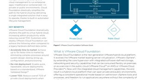 VMware Cloud Foundation™