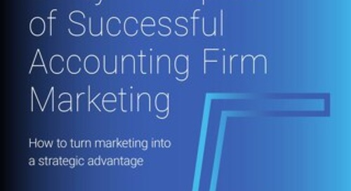 5 Key Principles of Successful Accounting Firm Marketing